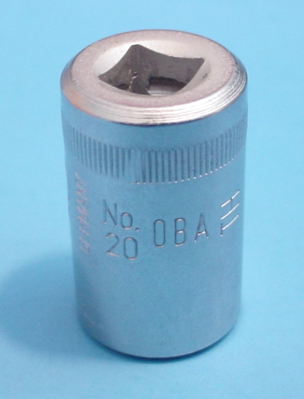"Gedore 20 0BA 1/4"" Drive British Addociation Socket"