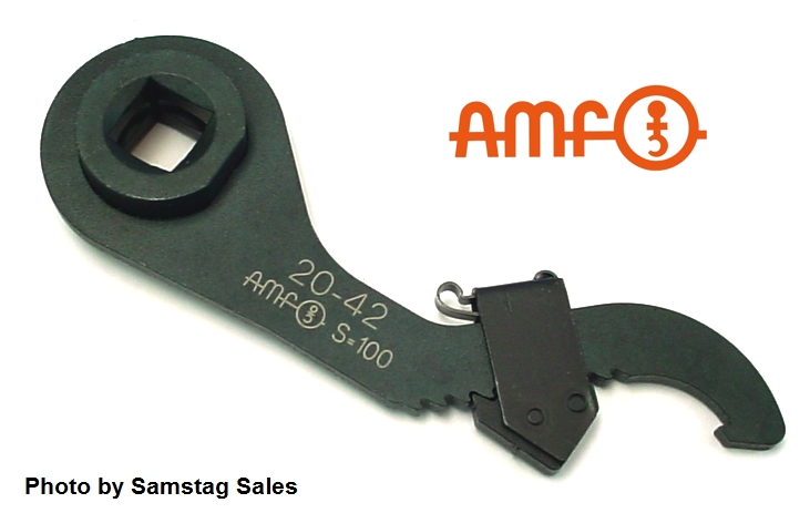 AMF 51516 Adjustable Hook Spanner Torque