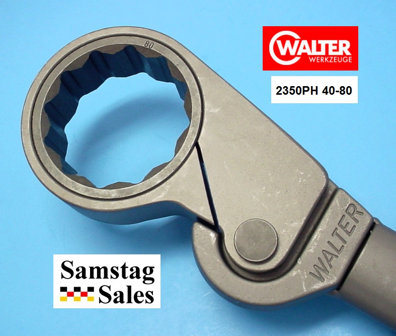 Walter 80mm Free Wheel Ratchet