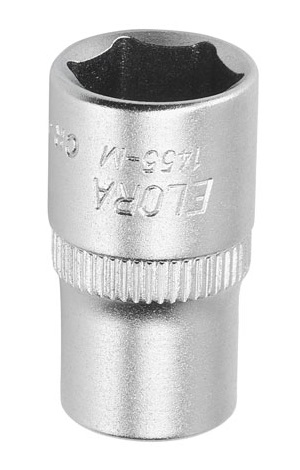 "Elora 1455-A-7/32 Socket 1/4"" Drive, 6 point"