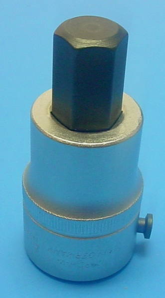 Elora 770-SIN 17 Hex Bit Socket, 17mm