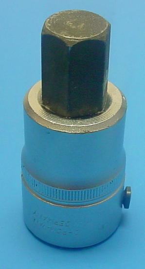 Elora 770-SIN 19 Hex Bit Socket, 19mm