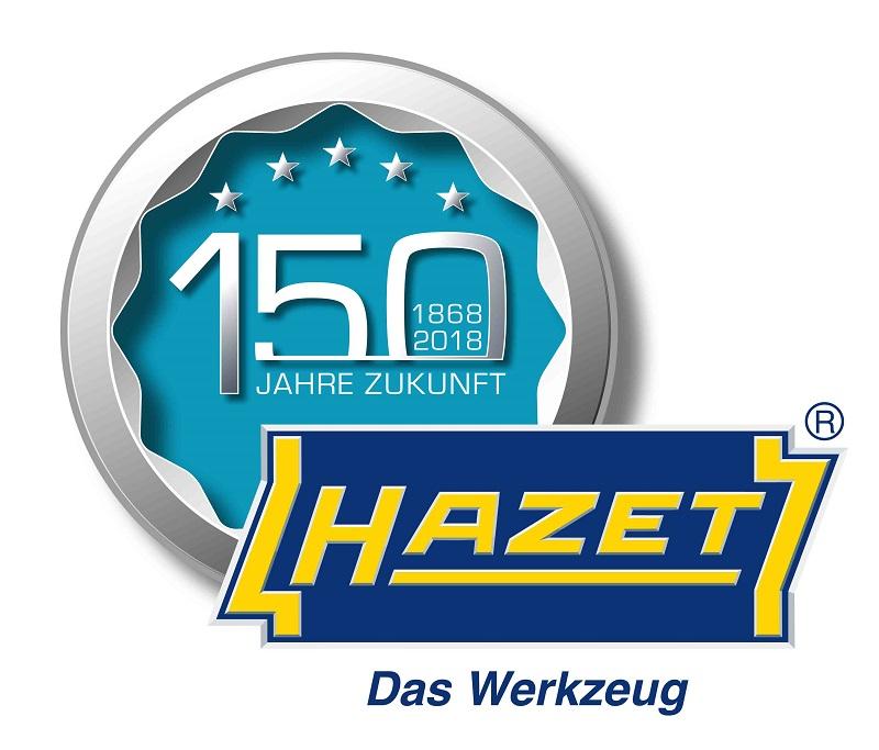 HAZET Germany 150 Year Anniversary Logo