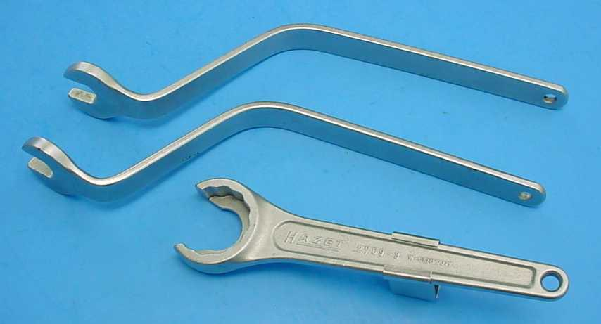 Hazet Diesel Valve Adjust Wrenches and Valve Spring Retainer Wrench