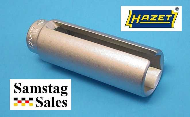 "Hazet 4680-1 Lambda Probe Socket, 1/2""                       drive and a 6-point profile, 92mm long, chrome                       plated"