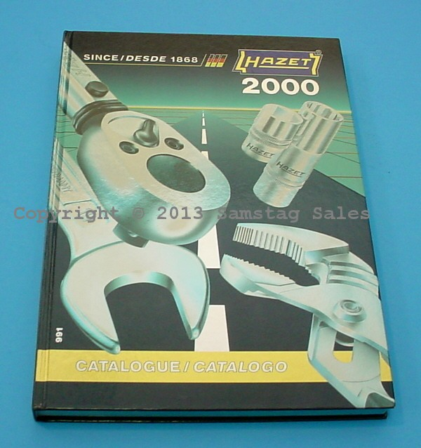 HAZET                       Year 200 Collector Edition Catalog