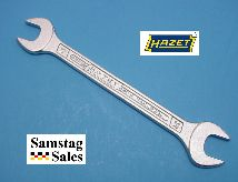 Hazet 450N-17-19 Double Open End Wrench 220.9mm long