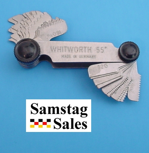 Horex 2618 102 Whitworth Screw Pitch Gauge