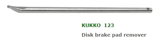 Kukko 123 Disk Brake Pad Pry Bar