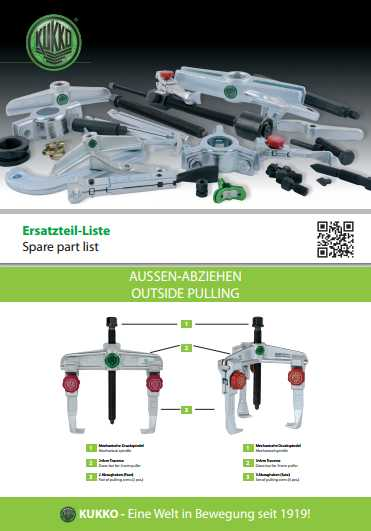 KUKKO Spare Parts Catalog Download