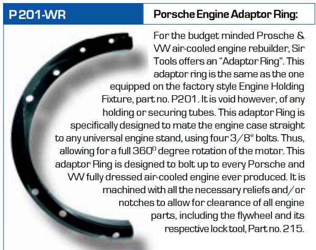 Sir Tools P 201-WR Engine Adapter Ring