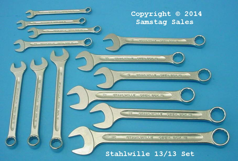 Stahlwille SF13/13 Combination Wrench Set