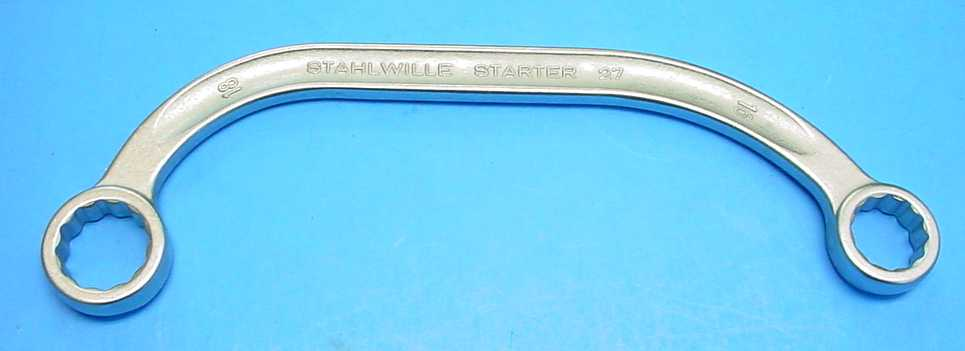 Stahlwille 27-16x18Half Moon Obstruction    Wrench