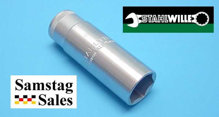 Stahlwille 51S-20.8 Spark Plug Socket