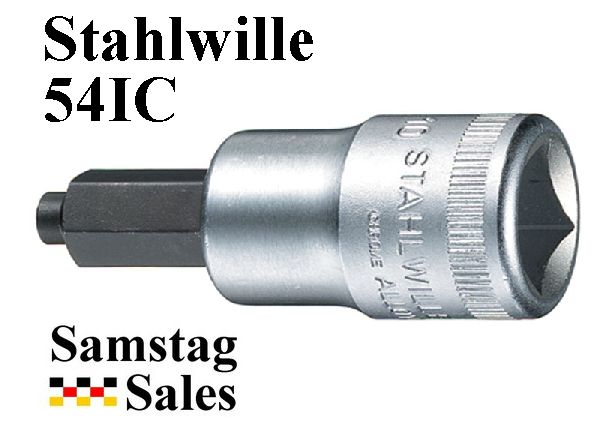 Stahlwille 54IC Pilot Tip Hex Bit Sockets