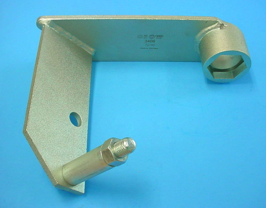 Volkswagen 3406 Counter Hold Tool for                           Installing Vibration Damper
