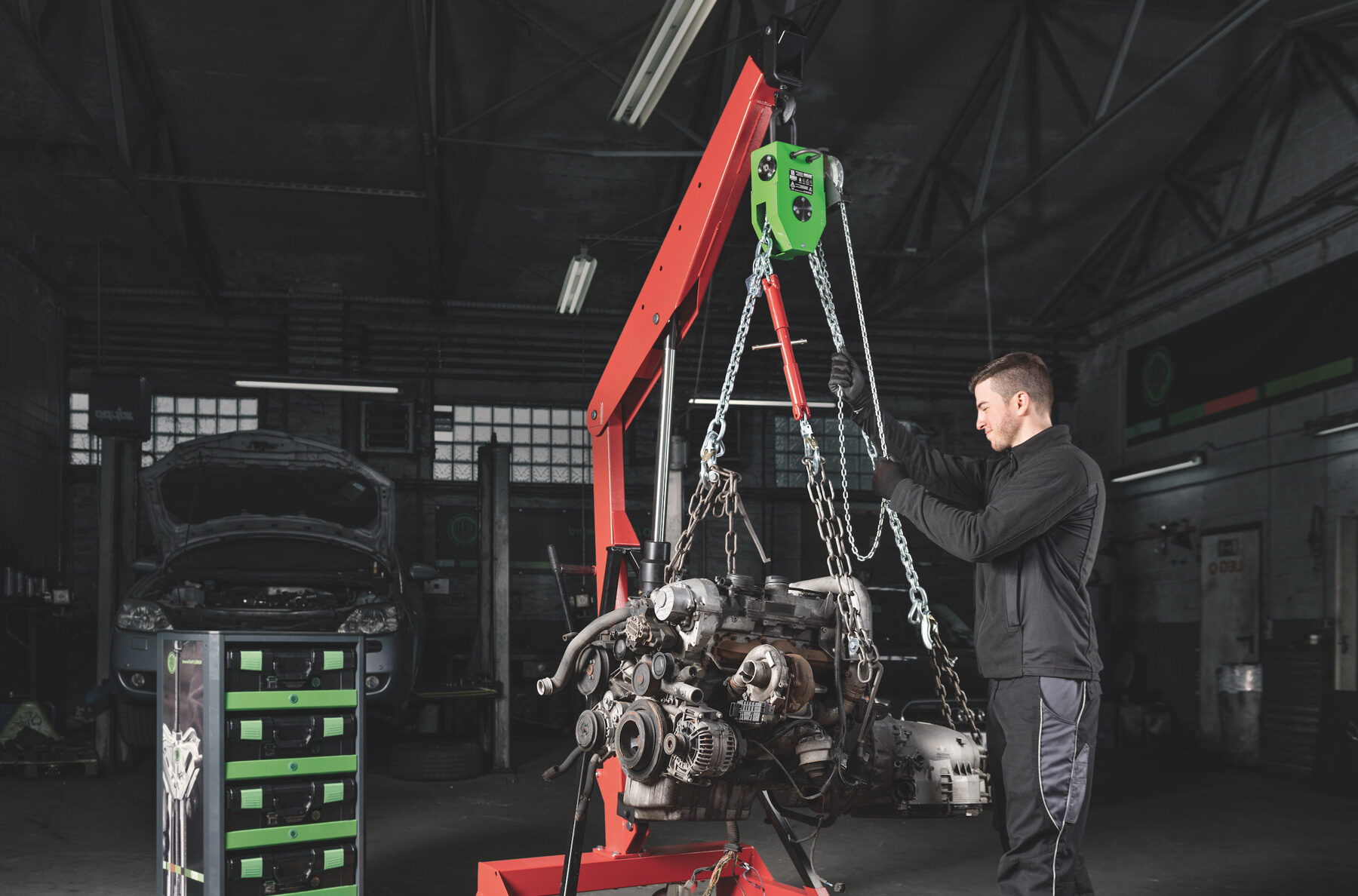 KUKKO Wilbar Uranos Engine Leveling                             Device