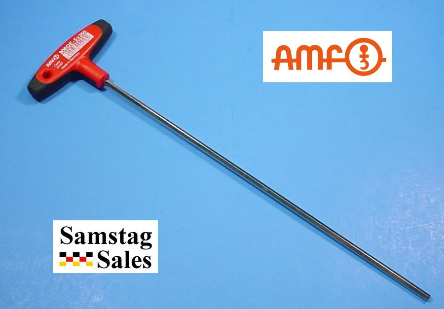 Extra Long6mm T Handle Hex Key Handle Is Made Of Heavy