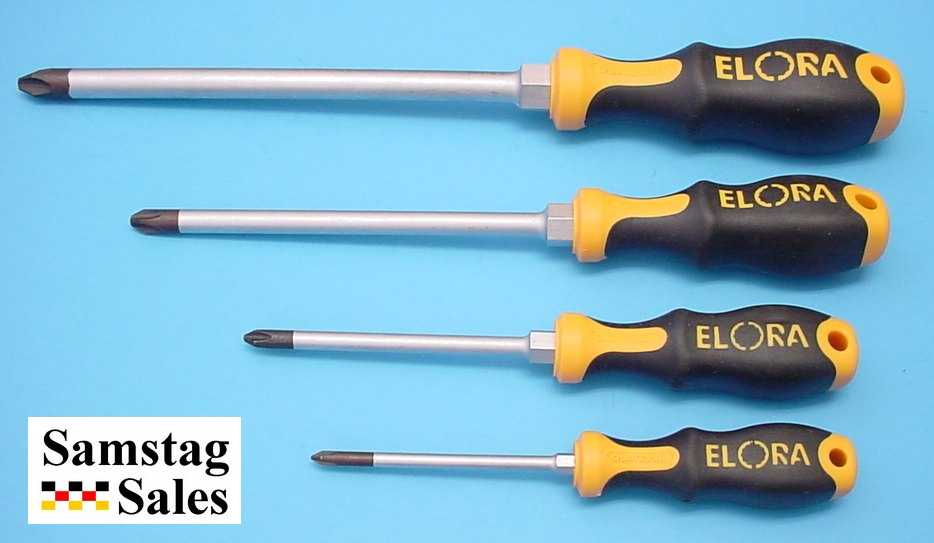 Elora 559 PH Set, Phillips Head screwdriver set