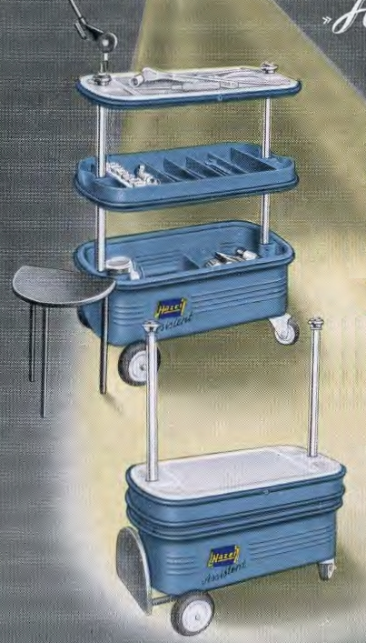Hazet Round Toolbox for Volkswagen Beetle and Old Tools