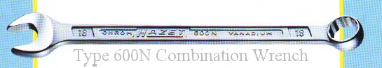 Hazet Type 600N                                   Long Combination Wrench