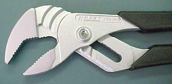 Hazet 760N-2 Slip-Joint Pliers, plastic handle