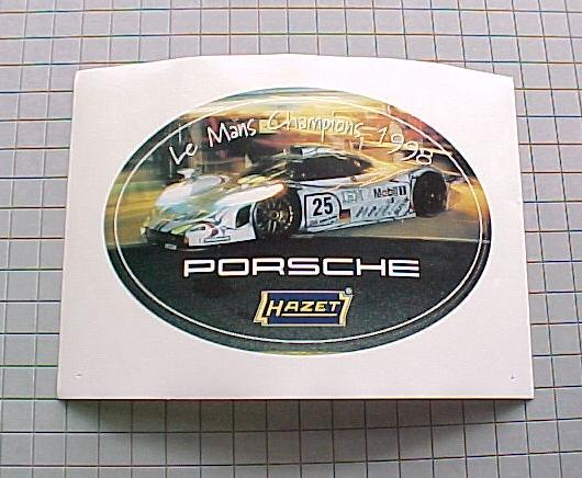 Hazet Sticker Lemans Champions 1998                           Porsche