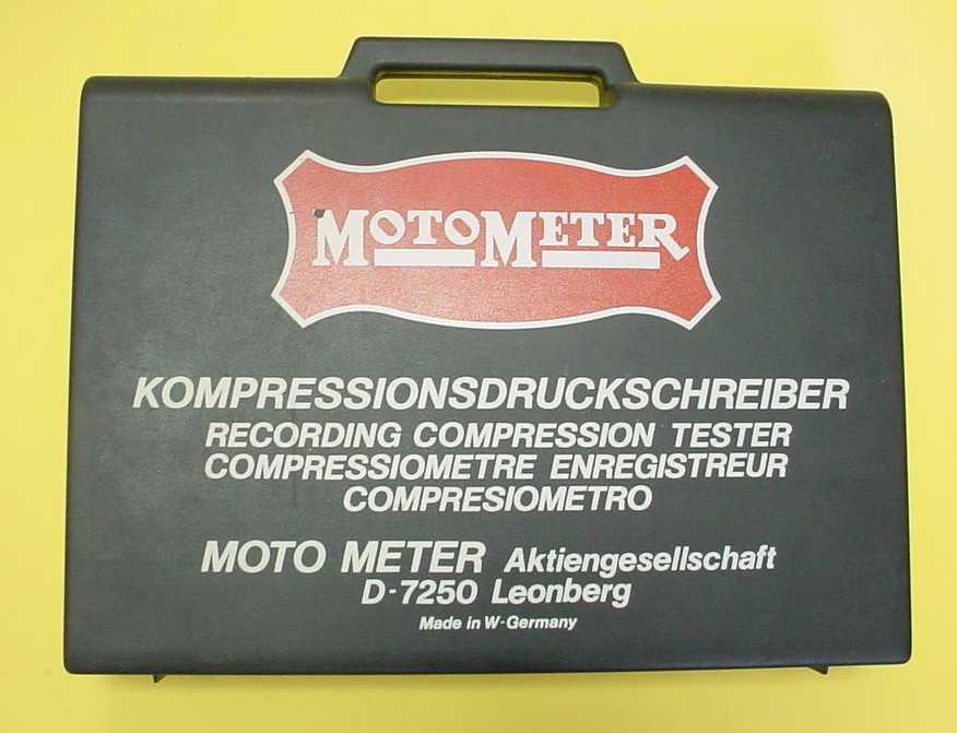 Motometer Germany Engine Compression Tester
