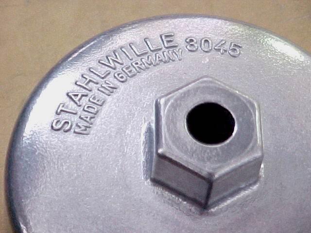 Stahlwille 3045 Oil Filter Removal Socket,
