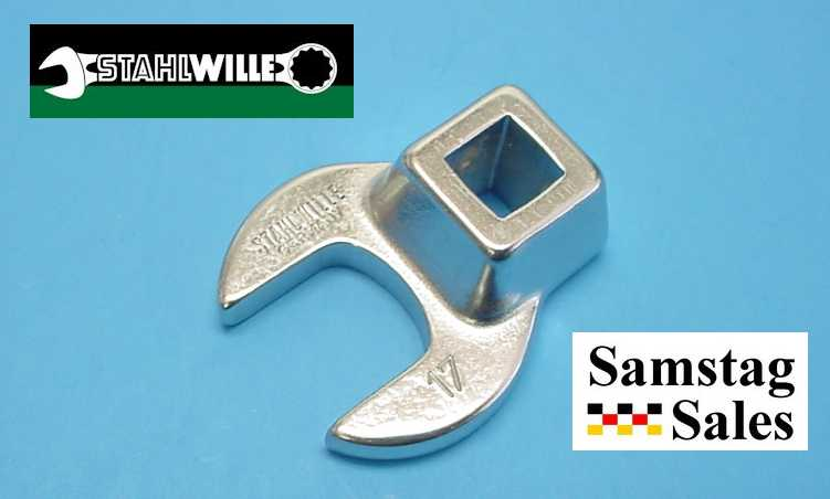 Stahlwille 540-17 Crow-Foot Spanner