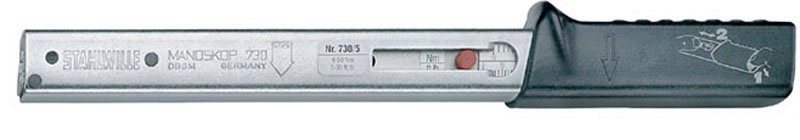 Stahlwille 730/5 Torque Wrench, Rapid Adjustment