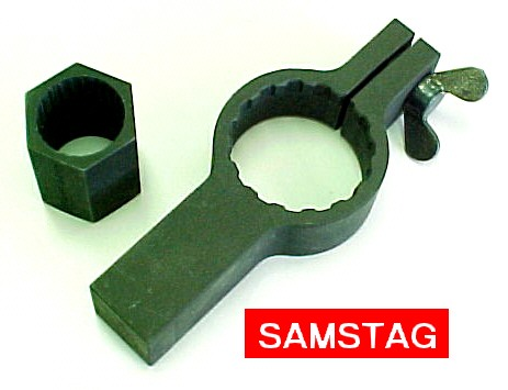 Volkswagen 2052 Pinion Assembly Tool for Drive Pinion Nut