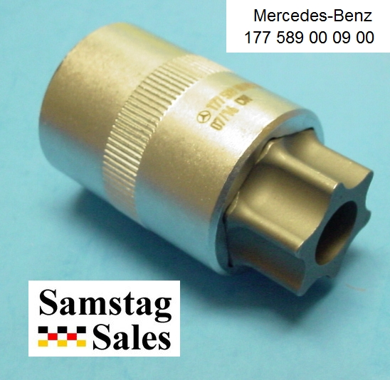 Mercedes 117 589 00 09 00 Torx T100 Socket