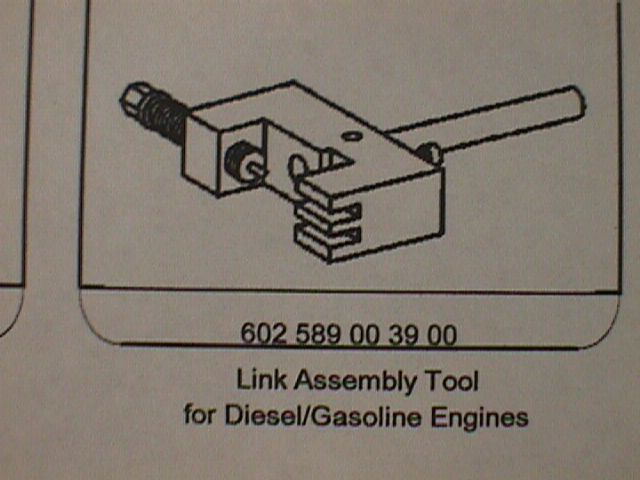 602 589 00 39 00 Link Assembly Tool Diesel and Gas