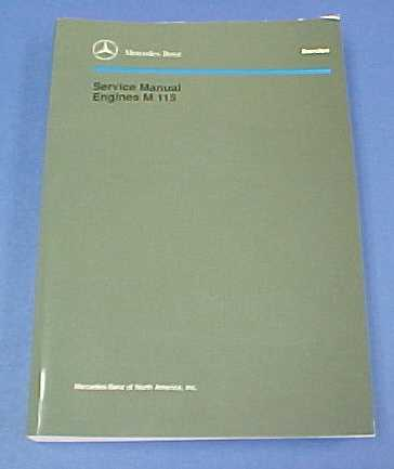 Mercedes benz passenger car literature the 4 cylinder m115 carburetor engine was used in the publicscrutiny Choice Image