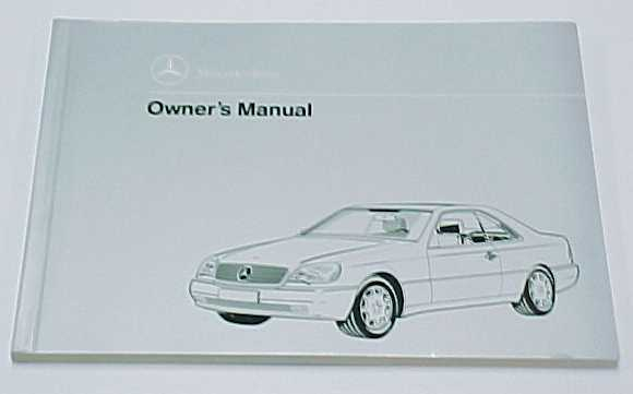 2000 mercedes-benz s500 repair manual