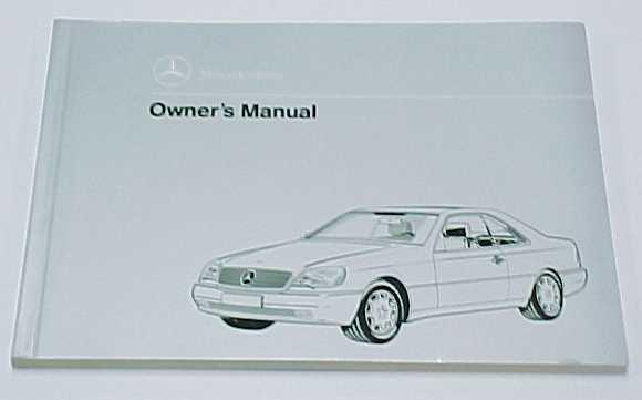 Mercedes benz passenger car literature for Mercedes benz owners manual