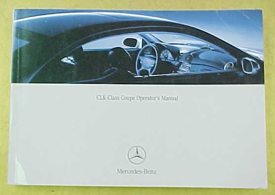 Mercedes Benz Passenger Car Literature border=