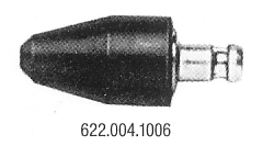 MotoMeter 622 004 1006 Rubber cone with socket